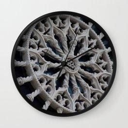 Rosone di Collemaggio Wall Clock