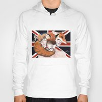 union jack Hoodies featuring Union by Melpo
