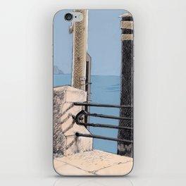 Baveno Dock, Northern Italy iPhone Skin