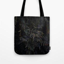 Moody Green Tote Bag