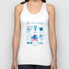 Tea Ceremony Unisex Tank Top