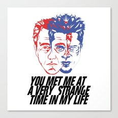 strange time in my life Canvas Print