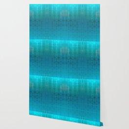 Bead Curtain (blue) Wallpaper
