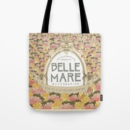 Belle Mare Buzzsession Cover Art Tote Bag