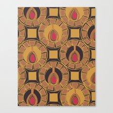Belle Pattern Canvas Print