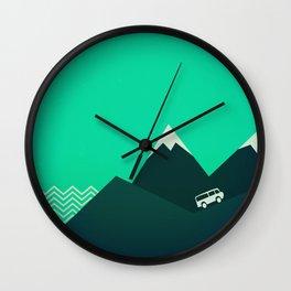 Travel! Wall Clock