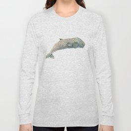 Pygmy Sperm Whale, whale art Long Sleeve T-shirt