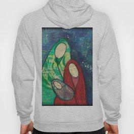 Folk Art Nativity Hoody