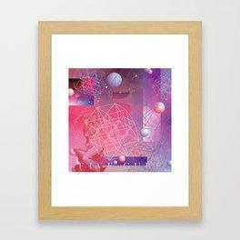 Five Cube Framed Art Print