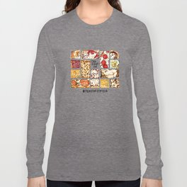 Feast of St. Pizza: Old Forge Edition Long Sleeve T-shirt