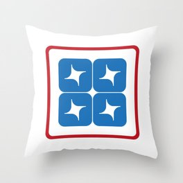 Stella Lunar Steel 3 Throw Pillow