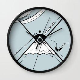 Upside Wall Clock