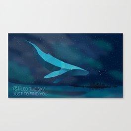 Sail the Sky Canvas Print
