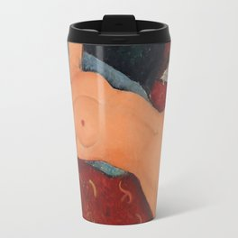 Amedeo Modigliani - Nu Couche Travel Mug