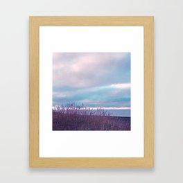 Pastel vibes 70 Framed Art Print