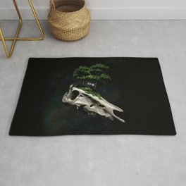The Third Sanctuary in Space Rug