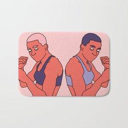 Doppelgänger Bath Mat