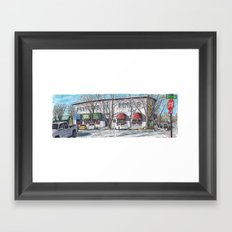 2nd Street, Davis Framed Art Print