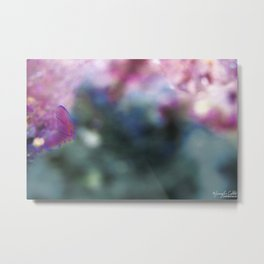 Fish Tail Metal Print