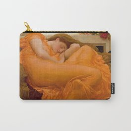 Flaming June - Frederic Lord Leighton Carry-All Pouch