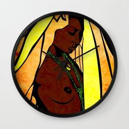 African queen Wall Clock