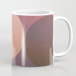 Pink Shadows Moon Coffee Mug