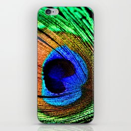 In the Peacock Mood iPhone Skin