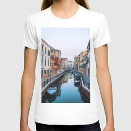 City on Water (Color) T-shirt