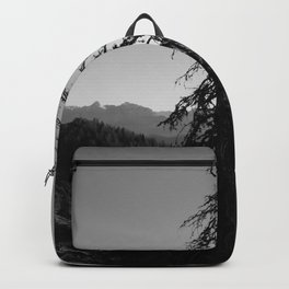 Black Tree in the Mountains Backpack