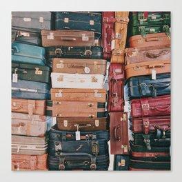 Vintage Suitcases Canvas Print