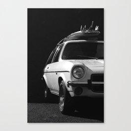 WHITE KNIGHT Canvas Print