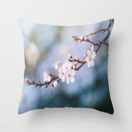 First Blossom Throw Pillow