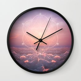 The Sun is but a Morning Star Wall Clock