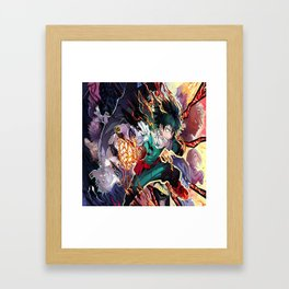 Boku no Hero Academia 7 Framed Art Print