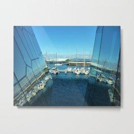 Harpa harbor Metal Print