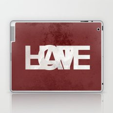 Love and hate Laptop & iPad Skin