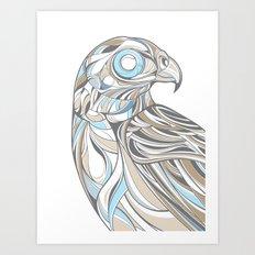 Hawk Art Print