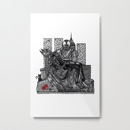 CHIROPTERA PIETA Metal Print