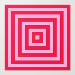 Vanishing Point 1 - Cherry Musk Canvas Print