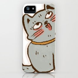 Cat cute iPhone Case