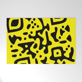 QR Clothes Yellow - Accessories Welcome Mat