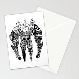 Robot MK Stationery Cards