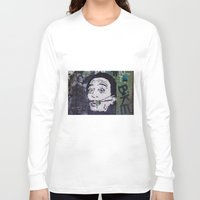 salvador dali Long Sleeve T-shirts featuring Salvador Dali by Victoria Herrera