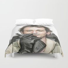 Bill Murray as Peter Venkman from Ghostbusters Duvet Cover
