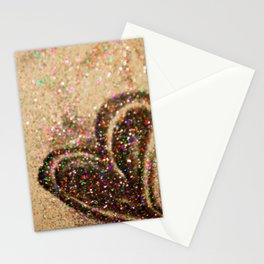 Some Hearts Get Lucky Stationery Cards