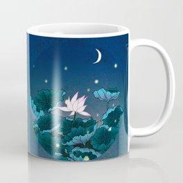 Minhwa: Lotus Pond at Night D Type Coffee Mug