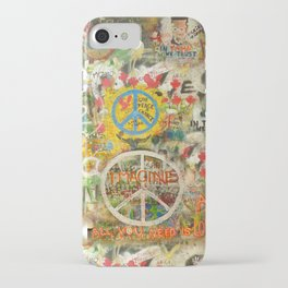 Peace Sign - Love - Graffiti iPhone Case