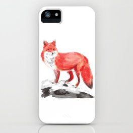 Mounted Fox iPhone Case