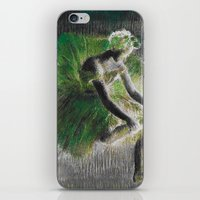 ballerina iPhone & iPod Skins featuring BalleriNA by PureVintageLove