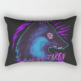 Nothing Rectangular Pillow